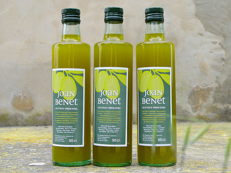 Aceite de oliva virgen extra Joan Benet