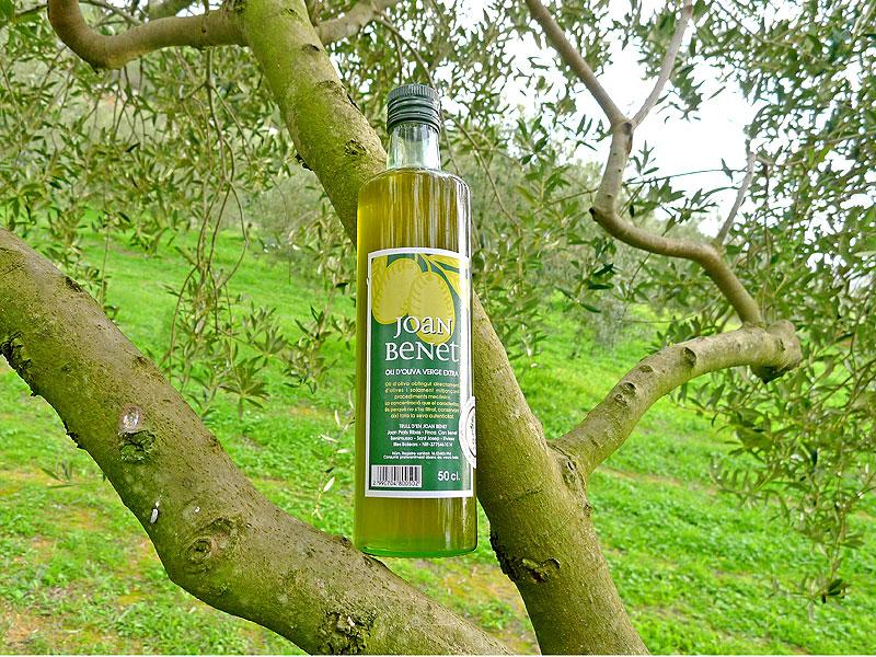 Aceite de oliva Joan Benet